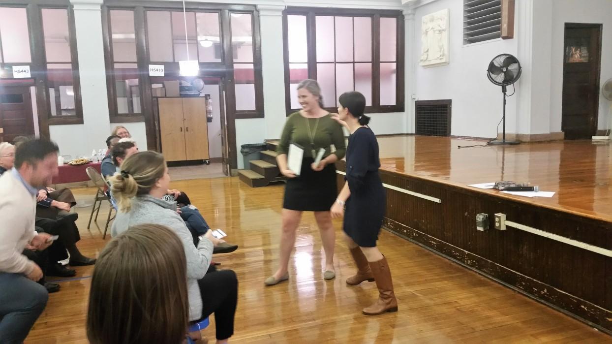 Allison Barkauskas and Michelle