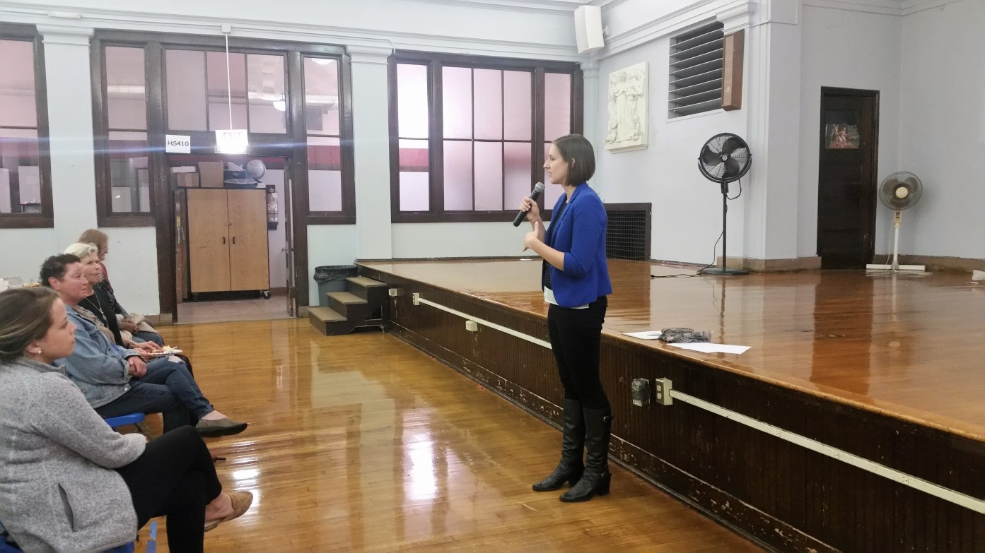 Samantha speaking